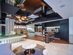 Contemporary Modern Office@Tria Sales Gallery, 9 Seputeh