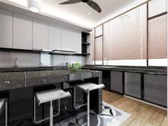 Modern Kitchen@RIO VILLA MONTEREY, ECO SANCTUARY