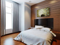 Asian Contemporary Bedroom@Dua Sentral Expat Home