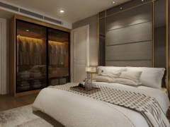 Contemporary Bedroom@Exclusive Condominium in KL