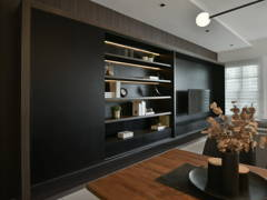 Contemporary Minimalistic Living Room@Cradleton Eco Majestic - Double Storey, Semenyih