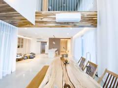 Asian Minimalistic Family Room Living Room@Armanee Terrace - Bu Bu's House