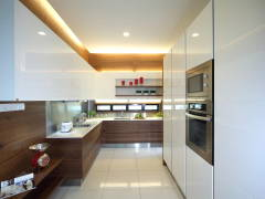 Contemporary Modern Kitchen@Indah Villa Bungalow