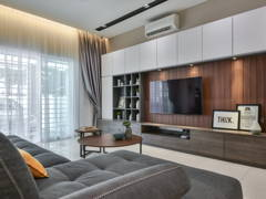 Contemporary Modern Living Room@Seri Jalil Residence