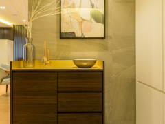 Contemporary Foyer@Posh &  Polished : State-Of-The-Art Residence