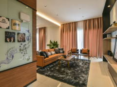 Contemporary Foyer@Gamuda Garden 1B