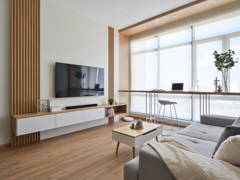 Minimalistic Zen Living Room@Japanese Zen Muji