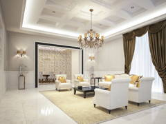 Classic Living Room@4452 Bungalow, Johor Bahru