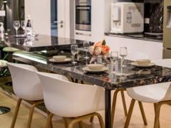 Minimalistic Dining Room@Cozy Interior @ Five Stones