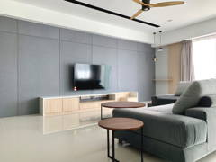 Modern Zen Living Room@Project R22