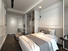 Classic Modern Bedroom@O2 city Type D1 Showroom- Condo at Puchong South, Selangor