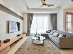 Modern Scandinavian Living Room@Parkfield Residences @ Tropicana Height Kajang