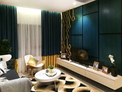 Contemporary Modern Living Room@Sunway Gandaria (Show Unit - Type A)