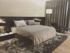 Contemporary Modern Bedroom Family Room@Northshore