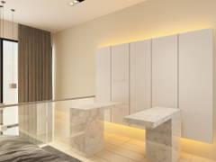 Modern Bedroom@M City Residence