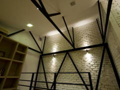 Industrial Rustic Study Room@An Original Avant-Garde Style