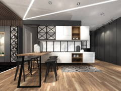 Modern Kitchen@The Hamilton