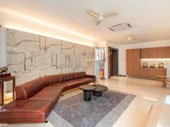 Contemporary Modern Foyer Living Room@Villa Paradise @ Idaman Villa, Petaling Jaya