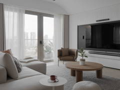 Scandinavian Zen Living Room@LIVING CURVE - Sentul, Kuala lumpur