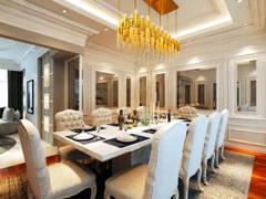 Classic Modern Dining Room@Sunway Vivaldi Penthouse