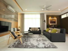 Contemporary Modern Living Room@Setia Eco Park, Setia Alam