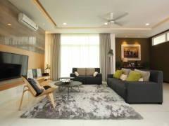 Contemporary Modern Living Room@Setia Eco Park, Setia Alam