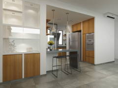 Industrial Modern Kitchen@Project Capers