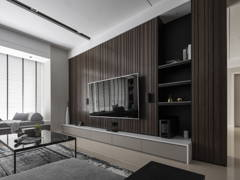 Contemporary Modern Living Room@The Dark Contour - Pavilion Hilltop