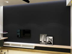 Minimalistic Modern Living Room@CENTRUS SOHO, CYBERJAYA