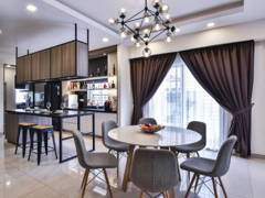 Contemporary Modern Dining Room@Setia Indah