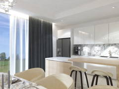 Contemporary Modern Dining Room Kitchen@The Rafflesia