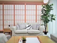 Modern Zen Living Room@Zen + Modern - Mar Residence, Kuala Lumpur