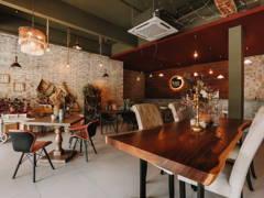 Industrial Vintage F&B Retail@V Life Vegan Cafe