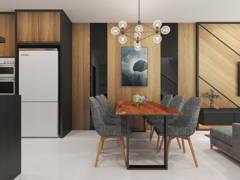 Classic Modern Dining Room@TAMAN SRI MUDA, SHAH ALAM