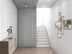Minimalistic Modern Foyer@Taman Seputeh 3 Storey Terrace