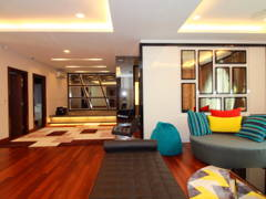 Asian Modern Family Room@Bungalow @ Kajang Country Height