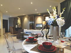Contemporary Modern Dining Room@9 Bukit Utama Show Unit (Block C)