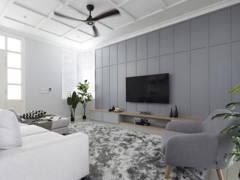 Classic Country Living Room@Setia Eco Park, Shah Alam