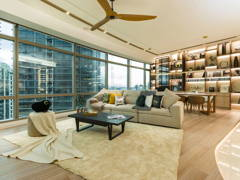 Industrial Scandinavian Dining Room Family Room@Urban Luxury Sleek Contemporary