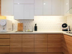 Contemporary Modern Kitchen@Dwiputra Residence