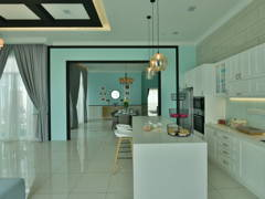 Modern Dining Room Kitchen@Setia Eco Park
