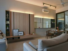 Contemporary Modern Living Room@Bandar Seri Coalfields