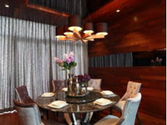 Contemporary Modern Dining Room@Gan One Legenda Residence