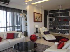Contemporary Modern Living Room@Condominium @ Kiara Ville, Mont Kiara KL