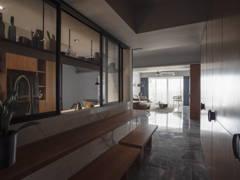 Industrial Modern Foyer Living Room@ZEST FOR LIFE - Ttdi, Kuala lumpur
