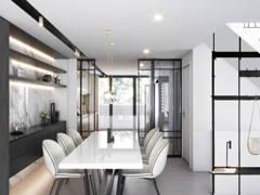 Minimalistic Modern Dining Room@Taman Seputeh 3 Storey Terrace