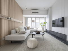 Contemporary Minimalistic Living Room@''Life of ZEN - Townhouse