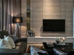 Contemporary Modern Living Room@Armada Villa 39