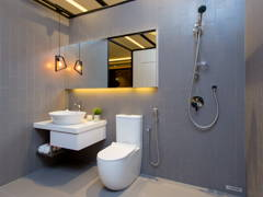 Contemporary Modern Bathroom@The Haute Show Unit