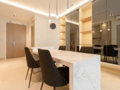 Contemporary Modern Dining Room Foyer@AraGreens Residences (Type A1)